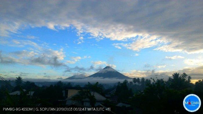 Pengawas Gunung Soputan Keluarkan Larangan Aktivitas Radius 4 Kilometer dari Kawah