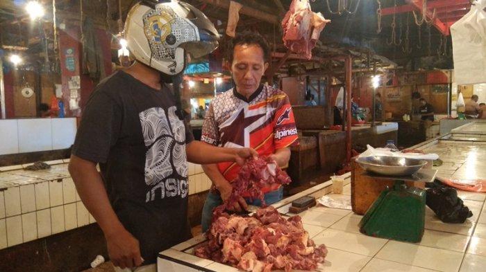 Daging Sapi di Pasar Bersehati Manado Belum Normal Setelah Pandemi, Daging Anjing Mulai Lancar