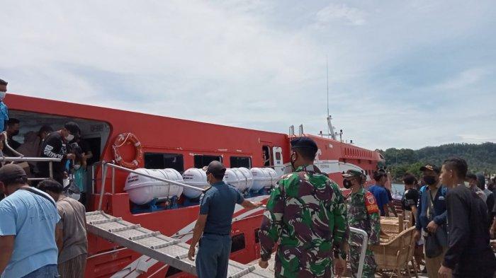 Cuaca di Kepulauan Sitaro dan Sangihe Membaik, Jadwal Kapal Siau-Tahuna Kembali Normal
