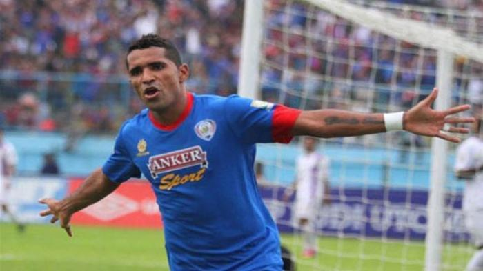 Alberto Goncalves alias Beto saat masih membela Arema.