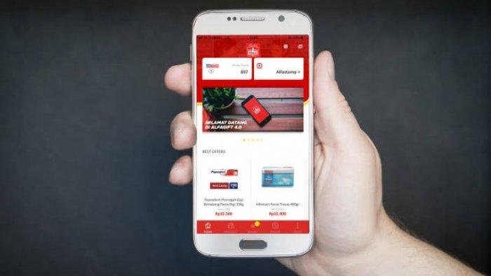 Permudah Transaksi Konsumen Milenial, Alfagift Relaunch dengan Fitur Terbaru