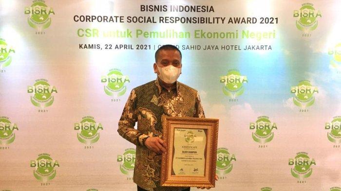 BERITA FOTO: Alfamart Raih Silver Champion In Corporate Social Responsibility Program di BISRA 2021