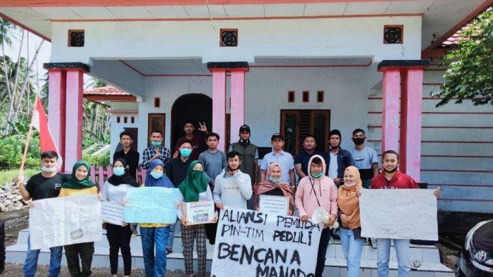 Aliansi Pemuda Kecamatan Pintim, Galang Dana untuk Korban Bencana di Kota Manado