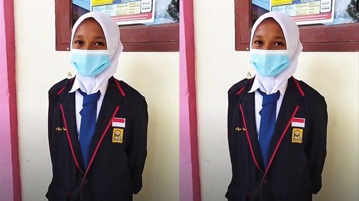 Alya Kapiso Siswi Asal Bolmut Mengaku Senang Bisa Kembali Belajar di Sekolah