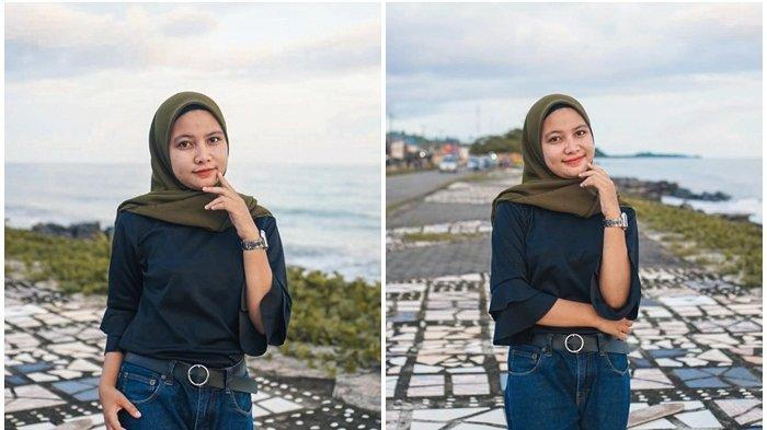 Gadis Cantik Alya Paputungan Bersiap Merayakan Hari Idul Adha