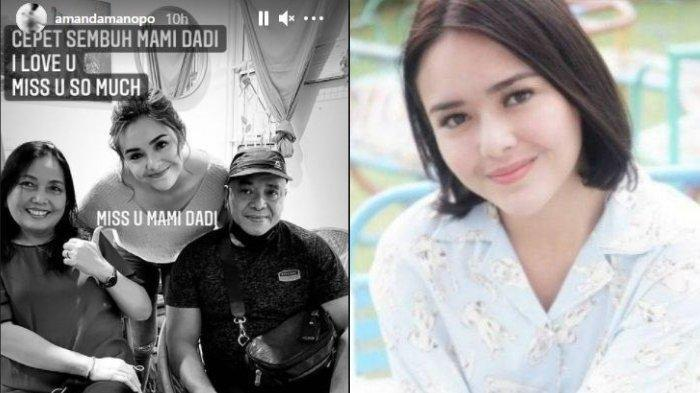 Ibunda Amanda Manopo Sempat Membaik, Namun Takdir Berkata Lain, Sang Bunda Perjuangan Lawan Covid-19