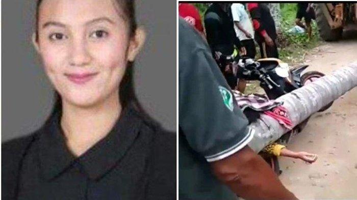 KRONOLOGI Gadis Cantik Tewas Terkena Pohon Kelapa Tumbang, 2 Jam Jadi Tontonan Warga
