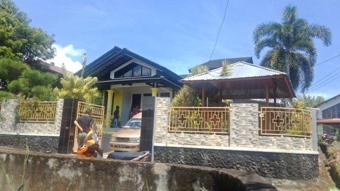 Amatan Tribun Manado di rumah duka di Kelurahan Winangun, Kecamatan Malalayang.