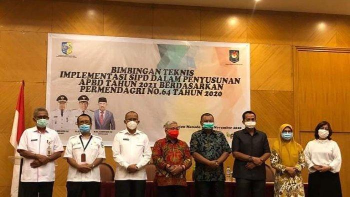 Wakil Bupati Bolmut Amin Lasena Buka Bimtek Penyusunan APBD 2021