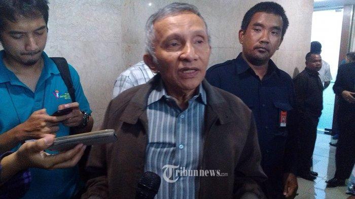 Amien Rais Besok Jalani Pemeriksaan Terkait Hoaks Ratna Sarumpaet, 300 Advokat Akan Mendampingi