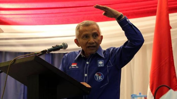 Amien Rais Beri Tanggapan Atas Dipilihnya Prabowo Sebagai Menteri Pertahanan