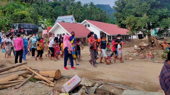 Pasca Banjir, Anak-anak di Batu Merah Bolmong Lari Bila Hujan, Farida: Masih Banyak yang Trauma