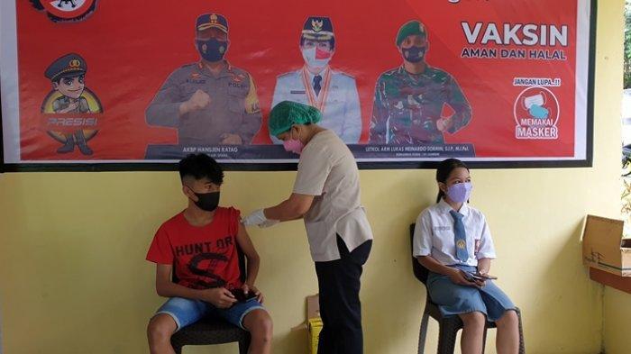 Polres Kepulauan Sitaro Buka Gerai Vaksinasi di Tiga Lokasi