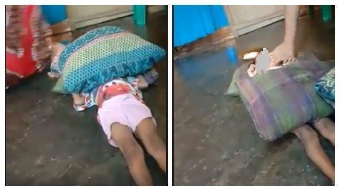VIRAL FACEBOOK! Beredar Video Ibu Aniaya Anak Sendiri, sampai Dibekap dengan Bantal