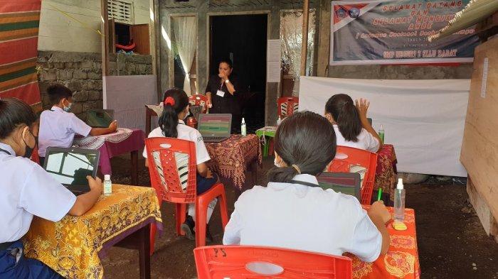 920 Pelajar SMP di Kabupaten Sitaro Ikut ANBK