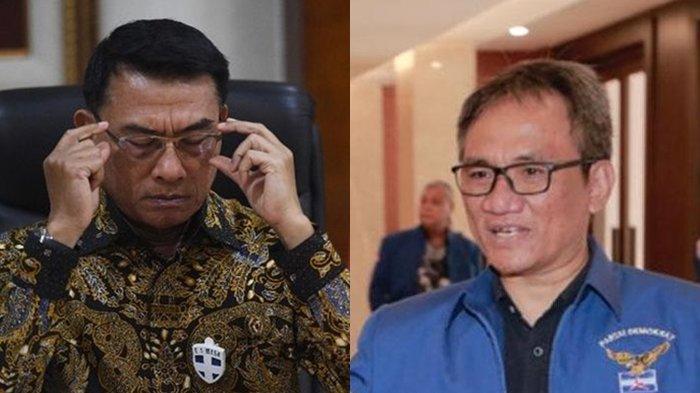 Andi Arief Ejek PD Kubu Moeldoko Sebut Gagal Daftar di KemenkumHAM, Tak Dapat Akses dan Password