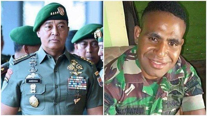 KSAD Jenderal Andika Perkasa: Pratu Lukius yang Membelot Jadi Anggota KKB Bawa Kabur 2 Magasin