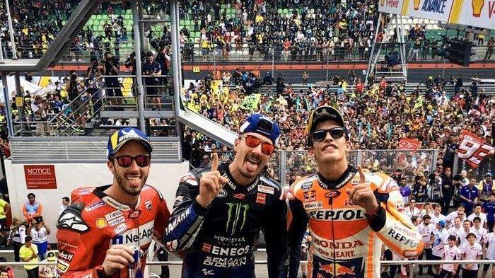 Update Klasemen MotoGP 2019 - Vinales Geser Rins, Marquez Lewati Rekor Lorenzo