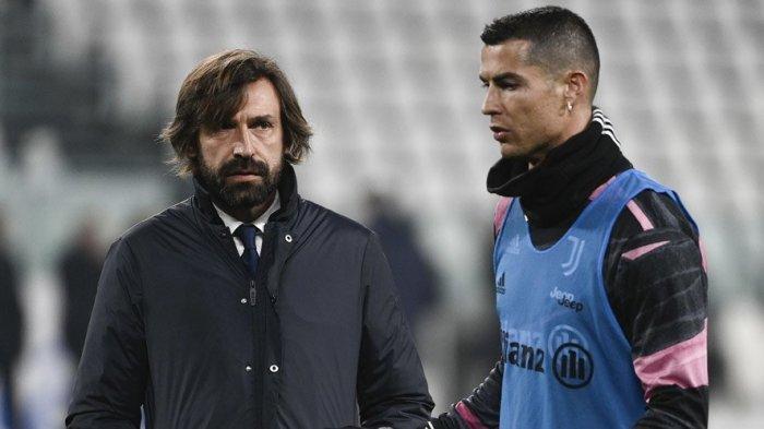 Juventus Alami Musim Sulit, Andrea Pirlo dan Cristiano Ronaldo Dijamin Aman Musim Depan