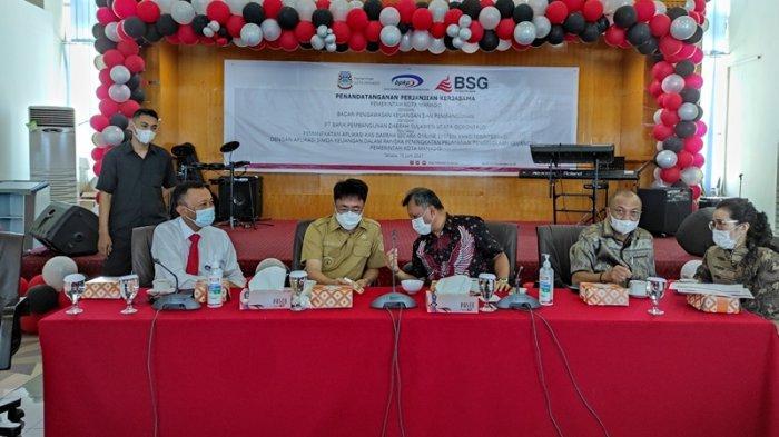 Kasda Online BSG Layani Keuangan Pemkot Manado, ini Harapan Wali Kota Andrei Angouw