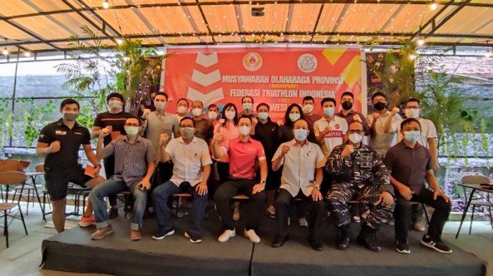 Andry Setio Terpilih Aklamasi, Pimpin Federasi Triathlon Indonesia Sulawesi Utara
