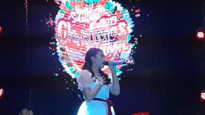 Aneth Idol Membuka Konser Natal bersama Agnez Mo