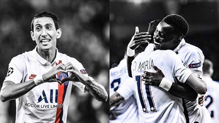 Hasil Liga Champions PSG 3-0 Real Madrid, Sang Mantan Permalukan El Real, Di Maria Borong 2 Gol