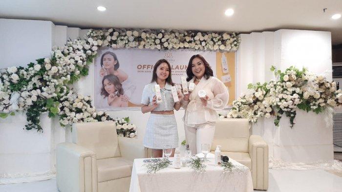 Pertama di Indonesia, Amanda Manopo Buka Distributor Skin Soul Brightening di Manado