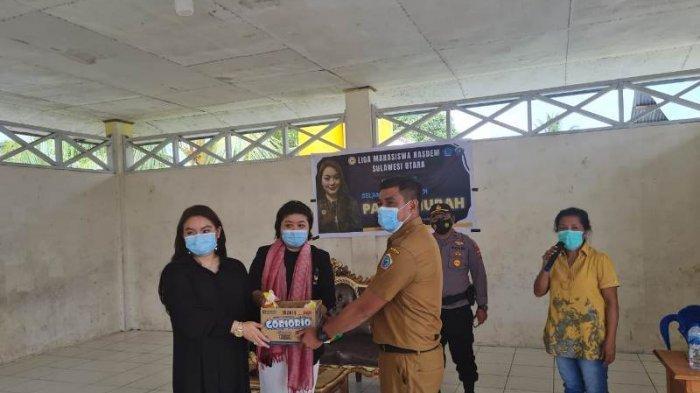 Anggota DPR RI Hillary Brigitta Lasut Buka Pasar Murah di Kecamatan Beo Talaud