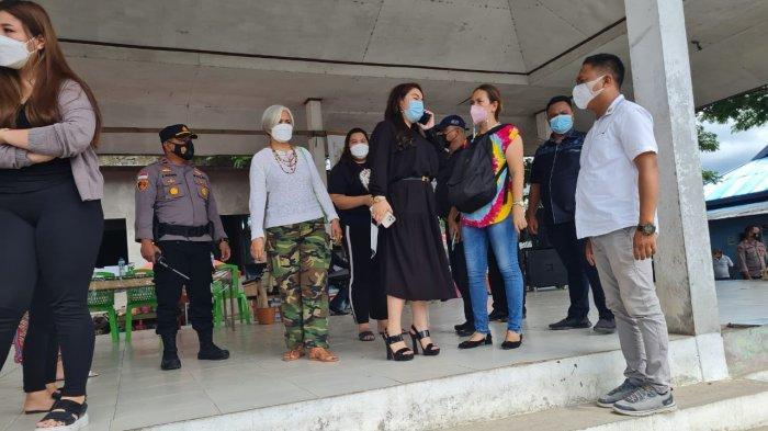Anggota DPR RI Hillary Lasut Hadiri Pasar Murah di Beo, Ringankan Beban Masyarakat saat Pendemi