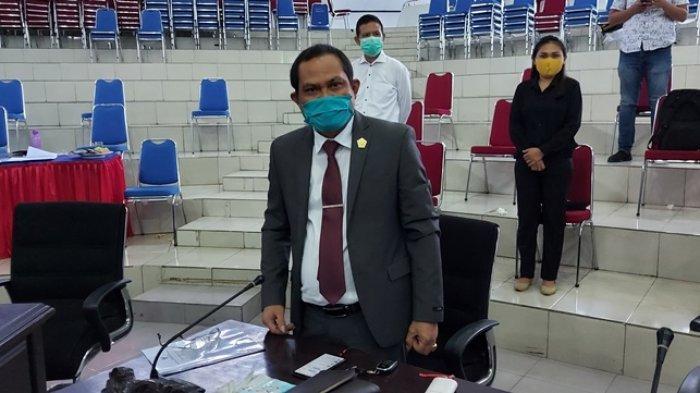 Nabsar Badoa, Anggota Banggar DPRD Bitung Sorot Penggunaan Anggaran Panangganan Covid-19