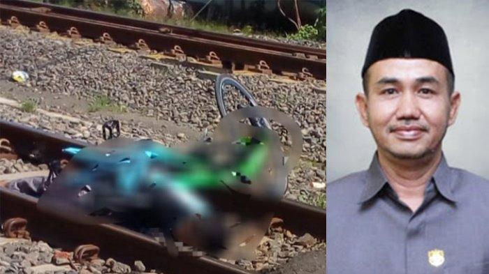 Innalillahi, Anggota DPRD Tewas Tertabrak Kereta Api, Penjaga: Palang Sudah Saya Tutup