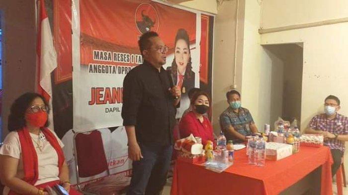 Srikandi Banteng Jeane Laluyan Turun Reses, Warga Wenang Minta Solusi Banjir hingga Tambatan Perahu
