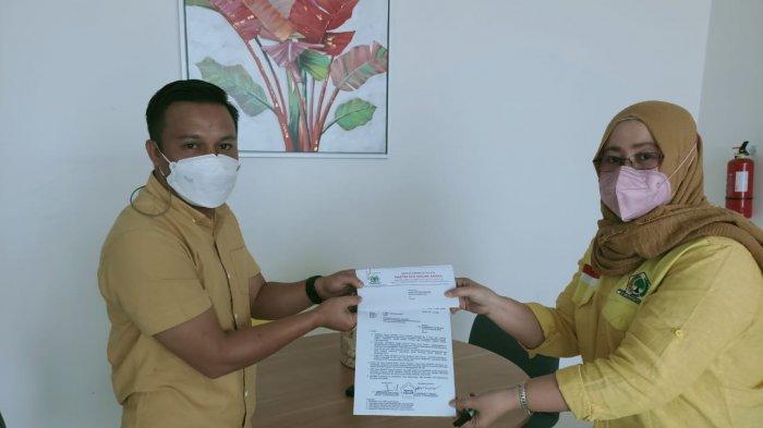 DPP Golkar Tunjuk Sulhan Manggabarani Jadi Pewaris Kursi Abdul Kadir Mangkat di DPRD Bolmong