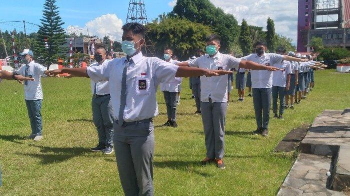 27 Anggota Paskibraka Kabupaten Minahasa Selatan Jalani Pra Latihan
