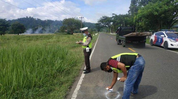 Polres Bomong Ambil Alih Penanganan Tabrak Lari di Lolak