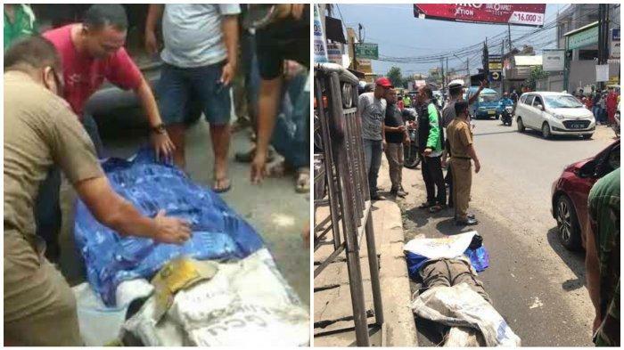 Kecelakaan Maut, Anggota Satpol PP Tewas Terlindas, Motor Kena Angkot Korban Jatuh ke Kolong Truk