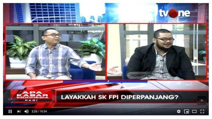 Anggota Tim Hukum FPI Debat Sengit LawanEko Kuntadhi soal Izin dan SikapRizieq, Tonton Videonya