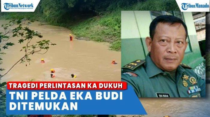 VIDEO Anggota TNI Korban Kecelakaan Kereta Tabrak Mobil Patroli Ditemukan