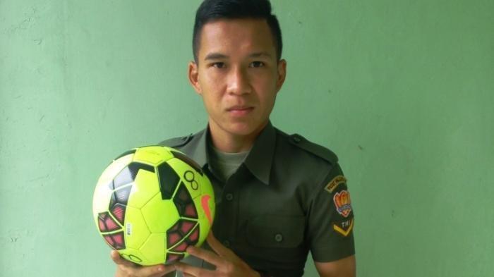 Sosok Erwin Ramdani, Pemain Persib Bandung yang Juga Prajurit TNI di Detasemen Polisi Militer