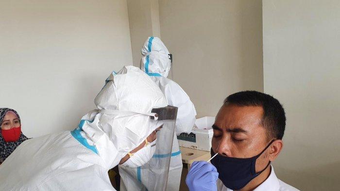 Dinkes Sulut Pindahkan Lokasi Skrining Rapid Antigen dan Swab PCR di Eks Kantor Pajak Pratama