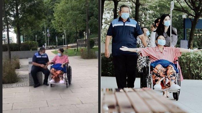 Kemesraan SBY dan Ani Yudhoyono Tertangkap Kamera, Begini Doa Sang Menantu