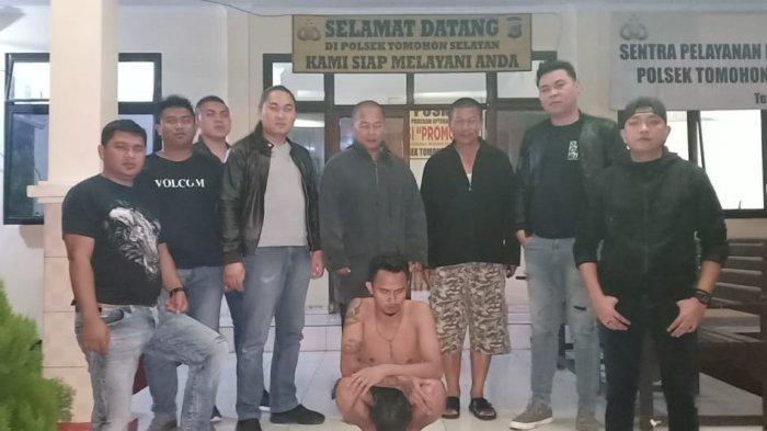 Aniaya Kekasihnya Sendiri, MT Ditangkap Tim URC Totosik Polres Tomohon