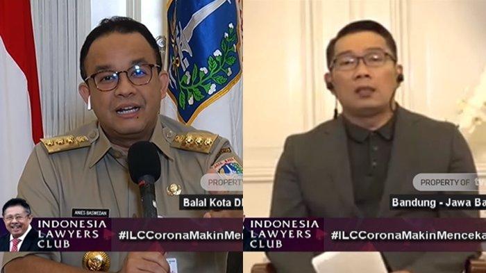 Di ILC, Serunya Gubernur Anies Baswedan Kritik Orang Tak Jelas, Ridwan Kamil Bukan Kelinci Percobaan