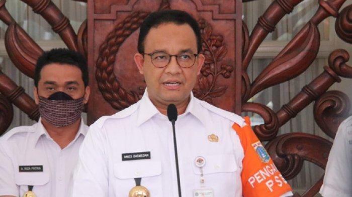 Gubernur DKI Jakarta Anies Baswedan. Kabar Terbaru, Anies Baswedan Izinkan warga Jakarta bebas ke mana saja.