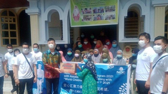 Maknai Hari Anak Internasional, NDC Berbagi bersama Anak-anak Panti Asuhan Assalaam Manado