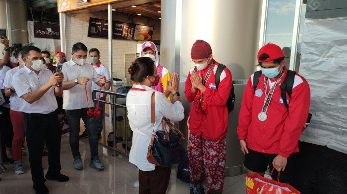 Tim Bola Basket PON XX Papua Tiba di Manado, Bawa Pulang Medali Perak