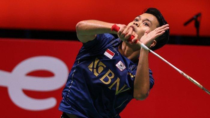 Anthony Ginting Benamkan Chou Tien Chen, Indonesia Lolos ke Perempat Final Piala Thomas 2020