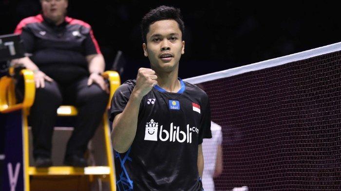 Kunci Sukses Anthony Ginting Kalahkan Anders Antonsen, Menyerang di Gim Tiga