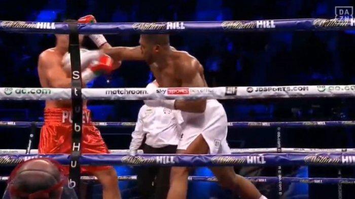Uppercut Anthony Joshua Bikin Kubrat Pulev Tersungkur: Ini untuk Menghormati Mike Tyson